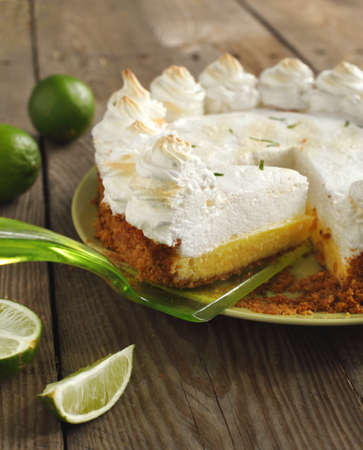 Key lime pie Stock Photo