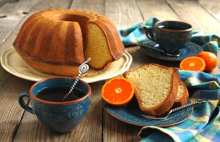 Citrus Kuchen Standard-Bild - 18732796