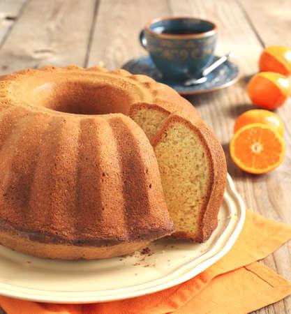 Citrus cake Stockfoto