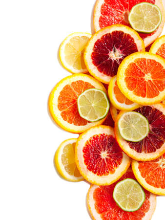 lemon lime: Grapefruit, orange, lime and lemon slices