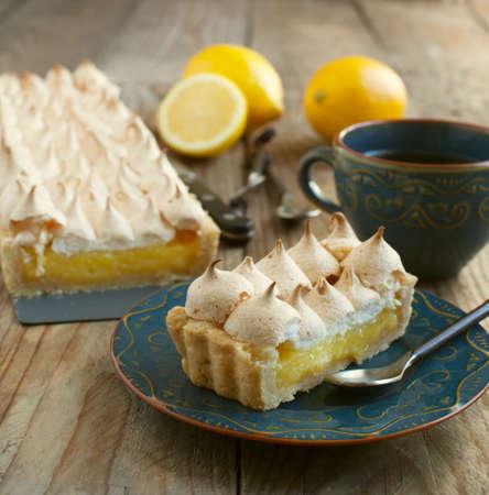Lemon tart Stockfoto