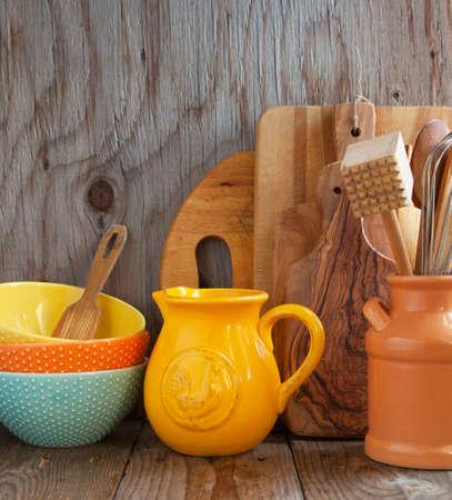 kitchen utensils: Utensilios de cocina para cocinar