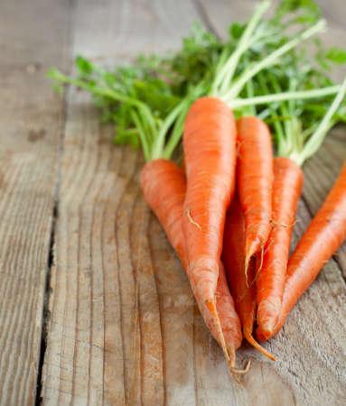 Fresh carrot photo