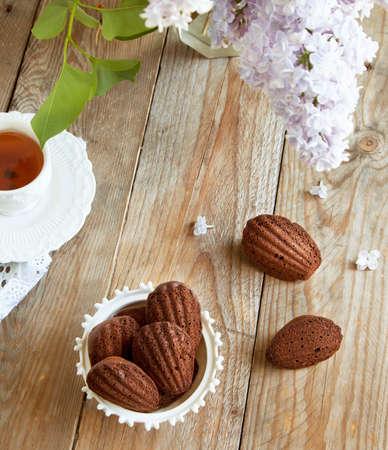 madeleine: Chocolate madeleine