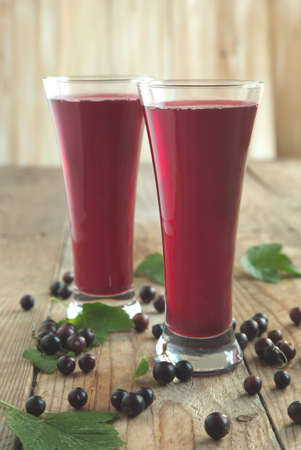 black currant: Black currant juice