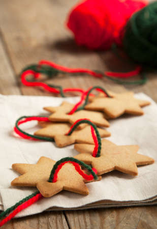 gingerbread: Christmas gingerbread cookies Stock Photo