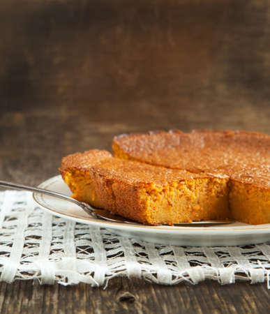 Carrot cake Stockfoto