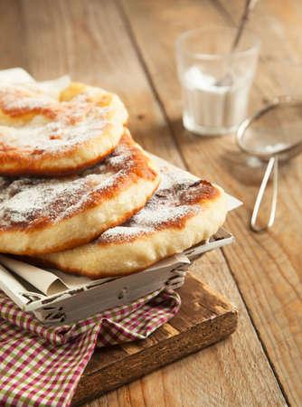levadura: Fre�r levadura pan dulce Foto de archivo