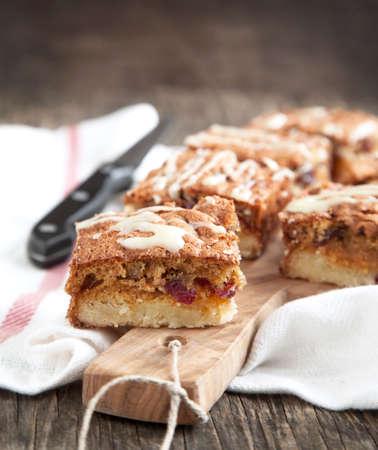 pecan pie: Cranberry, de chocolate blanco y pacana plazas
