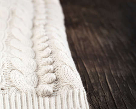 Knitted fabric texture photo