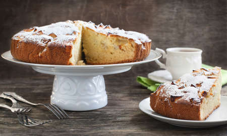 Apple Kuchen Standard-Bild - 25716078