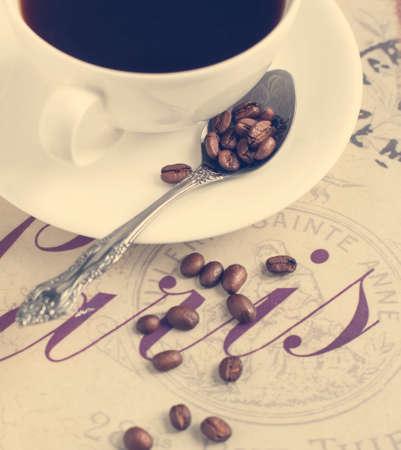 Imagen Taza de café en tonos de Foto de archivo - 26779629