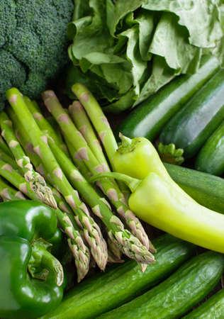 Verduras frescas Foto de archivo - 27500292