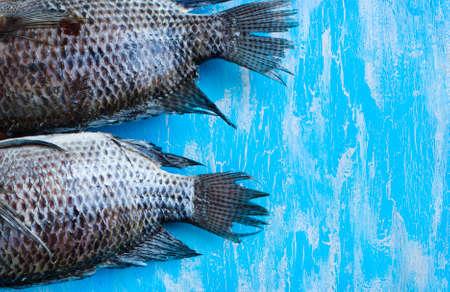 fish tail: Tail Tilapia fish
