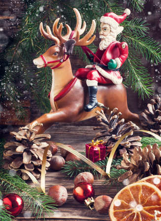 Christmas composition. photo