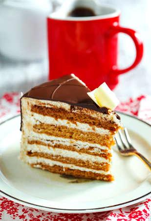 honey cake: Piece of Honey Cake.