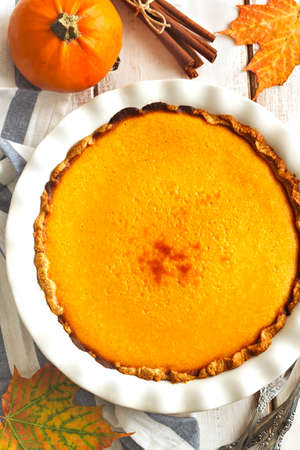 pumpkin pie: Pumpkin pie.