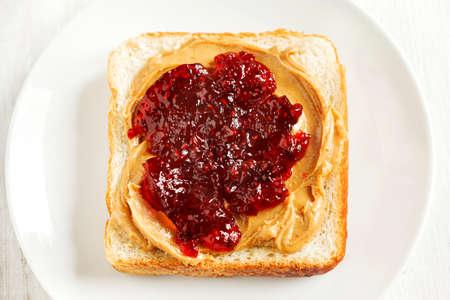 jelly sandwich: Peanut Butter and Jelly Sandwich
