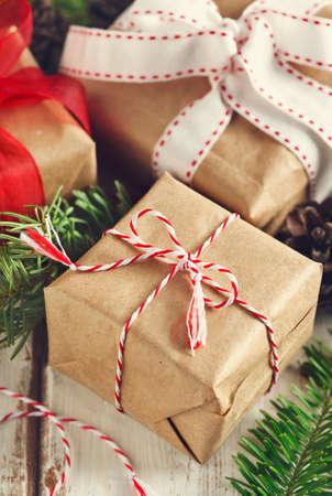 Christmas gifts. Banco de Imagens