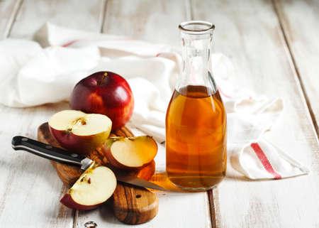 vinagre de manzana Foto de archivo