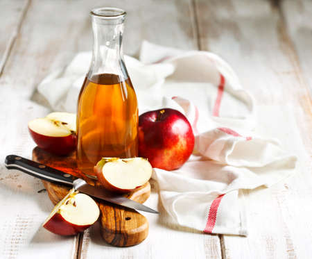 Apple vinegar Standard-Bild