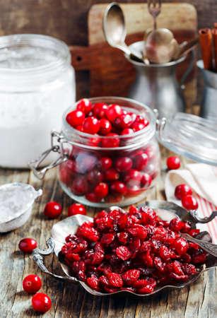 arandanos rojos: Fresh and dried cranberries