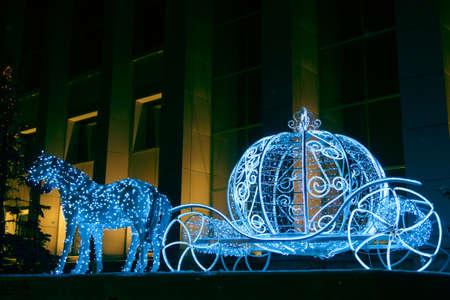 illuminations: Christmas illuminations sculpture