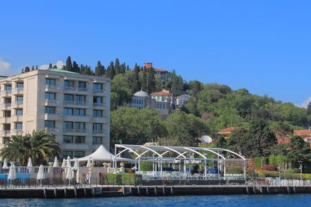 sea life centre: coast of the Bosphorus
