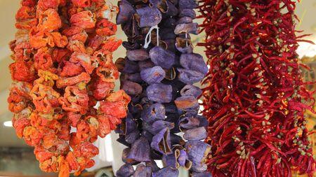 bazaar: oriental spices on bazaar