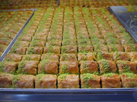 yufka: traditionally middle eastern near east cuisine Stock Photo