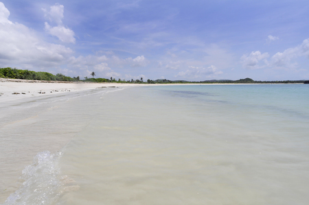 holliday: beach and tropical sea for holliday, Lombok Indonesia
