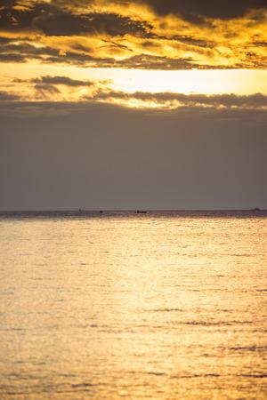 kood: Sunset and clouds at  Kho Kood Thailand