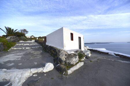 typical: typical house Oia, Santorini Stock Photo