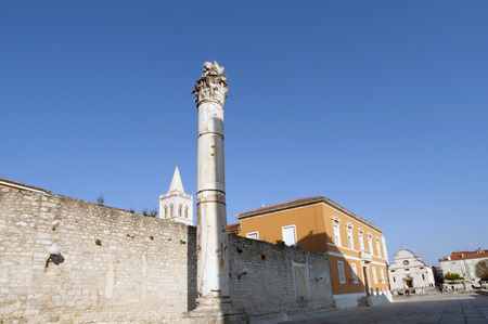 monumental building from the 9th century in Zadar, Croatia