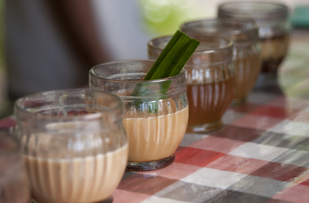 tast: different kind of coffees to tast at balinese jungle visit