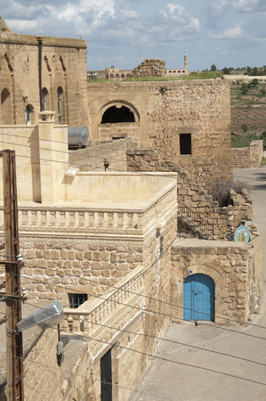 traditional and very ancient Hah village Mardin