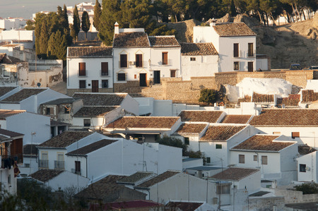 spanish village: Casabermeja, typical Spanish village Andalusia Spain