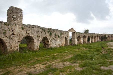 mani: old ruin Mani Pelleponesos Greece Stock Photo