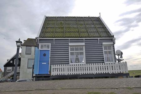 marken: The traditional dutch village Marken in the Netherlands