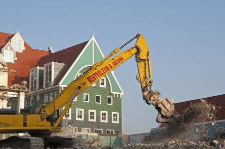 zaandam: A modern take on traditional Dutch architecture under construction