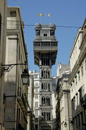 Sintra Portugal, 27-September-2007: A building of great grandeur