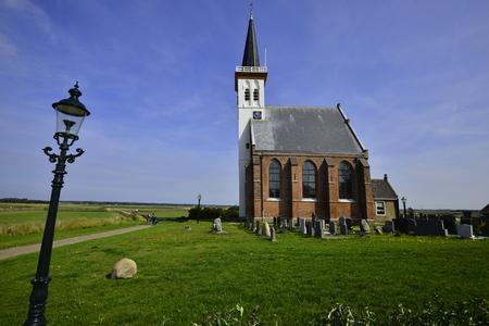Church Den Horn Texel The Netherlands