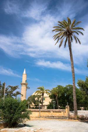 umm: Mosque of Umm Haram, Larnaca, Cyprus