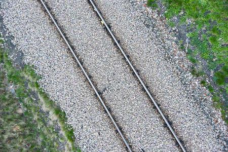 macadam: Railroad embankment