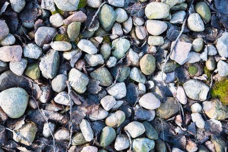 medium size: Medium size stones texture Stock Photo