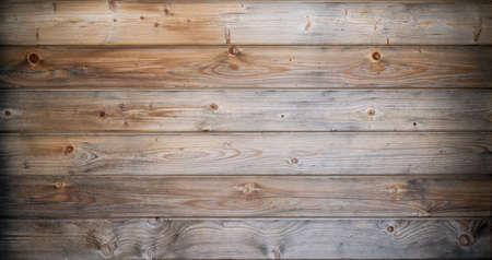 Una trama di un vecchio sole sbiancato in legno, con effetto vignetta Archivio Fotografico
