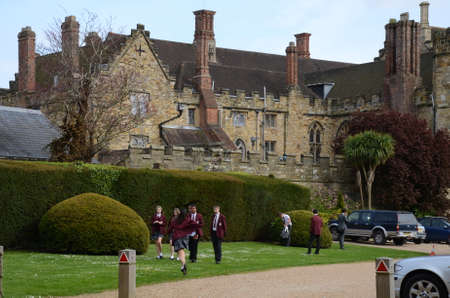 contryside: private school in UK Editorial