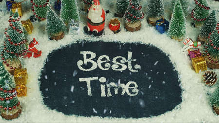 Stop motion animation of Best Time