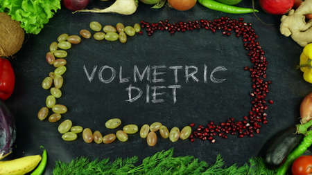 Volumetric diet fruit stop motion
