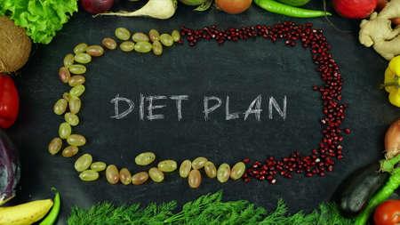 Diet plan fruit stop motion